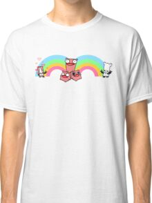 Pink Knight- Castle Crashers Classic T-Shirt