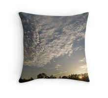 Amazing Cloud Formation Throw Pillow