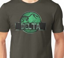 jurassic world delta raptor Unisex T-Shirt