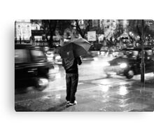 Rainy Night in Westminster Canvas Print