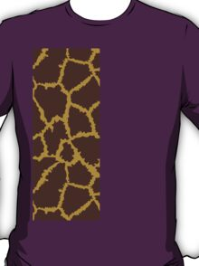 Brown Leopard Texture T-Shirt