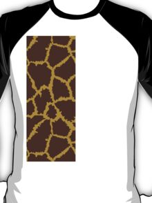 Brown Leopard Texture T-Shirt