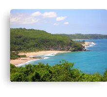 Aguadilla-from the Calle Canvas Print