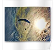 Icarus  .. paragliding  Poster