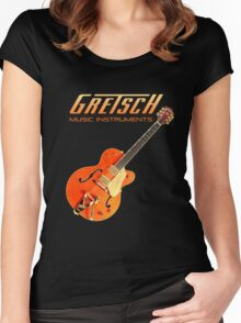 Cool Gretsch  Women's Fitted Scoop T-Shirt