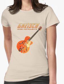Cool Gretsch  Womens Fitted T-Shirt