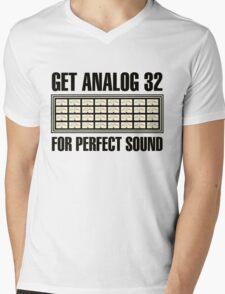 Get Analog  32 Mens V-Neck T-Shirt