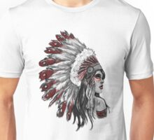 Red Indian - Color  Unisex T-Shirt