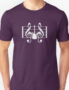 Guitar  Music Notes Unisex T-Shirt