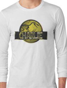 jurassic world charlie raptor Long Sleeve T-Shirt