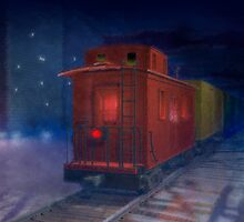 Hear that lonesome whistle by Carol and Mike Werner