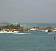 Isla de Cabras-from El Morro by Swan Diaz