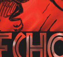 jurassic world echo raptor Sticker