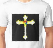 Cross of the Rosicrucians by Pierre Blanchard Unisex T-Shirt