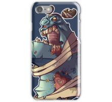 Frankie the gentle giant -Zombie Punk Collection iPhone Case/Skin