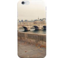 Paris Autumn Landscape iPhone Case/Skin