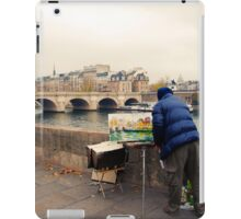 Paris Autumn Landscape iPad Case/Skin