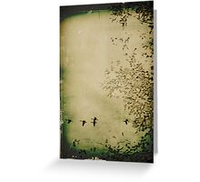 Fall Migration Greeting Card