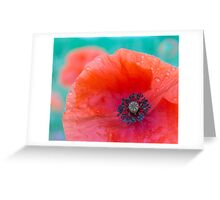 The rainy day Greeting Card