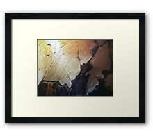 Birds - surrealism - cityscape - natural art - macro photo Framed Print
