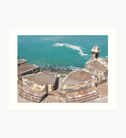 View from Above-El Morro Art Print