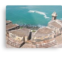 View from Above-El Morro Metal Print