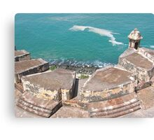 View from Above-El Morro Canvas Print