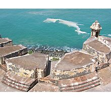 View from Above-El Morro Photographic Print