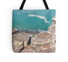View from Above-El Morro Tote Bag