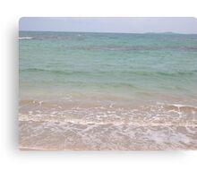 Ocean Beauty-from Condado Canvas Print