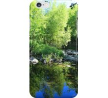 Reflections in a Quiet River iPhone Case/Skin