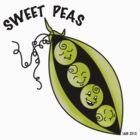 Sweet Pea's~(C) by Lisa Michelle Garrett