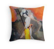 Birth of... Athena Throw Pillow