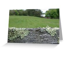 Good fences make good neighbors Greeting Card