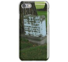 Old Tombstone iPhone Case/Skin