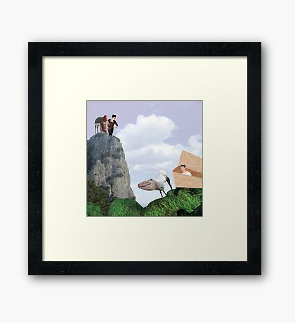Birth of... Erichthonius Framed Print