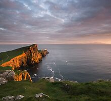 Neist Point Sunset by Kenny Holt