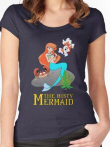 The Misty Mermaid Women's Fitted Scoop T-Shirt