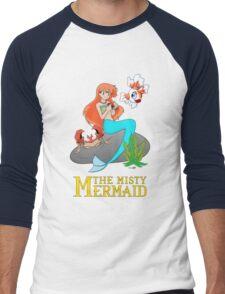 The Misty Mermaid Men's Baseball ¾ T-Shirt