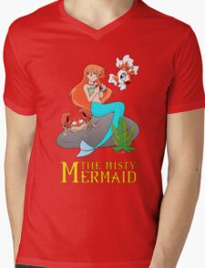 The Misty Mermaid Mens V-Neck T-Shirt