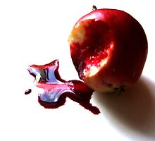 Bleeding Apple by Alexis  Reber
