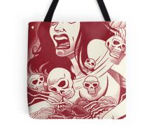 Another nightmare, another page... Tote Bag