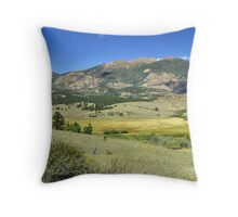 Big valley big country Throw Pillow