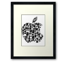 APPLE - IPAD IPHONE IPOD TOUCH Framed Print