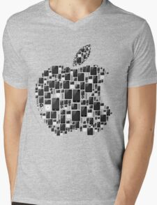 APPLE - IPAD IPHONE IPOD TOUCH Mens V-Neck T-Shirt