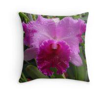 An Orchid.. Throw Pillow