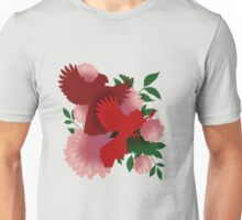 Crested Cardinals Unisex T-Shirt