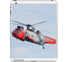Royal Navy Sea King Rescue Helicopter iPad Case/Skin
