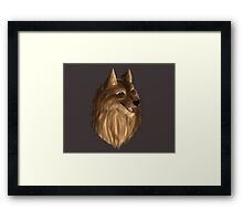 Fluff up Framed Print