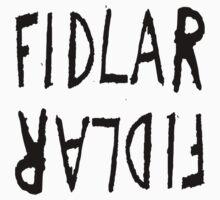 Fidlar logo white by tameimpalala